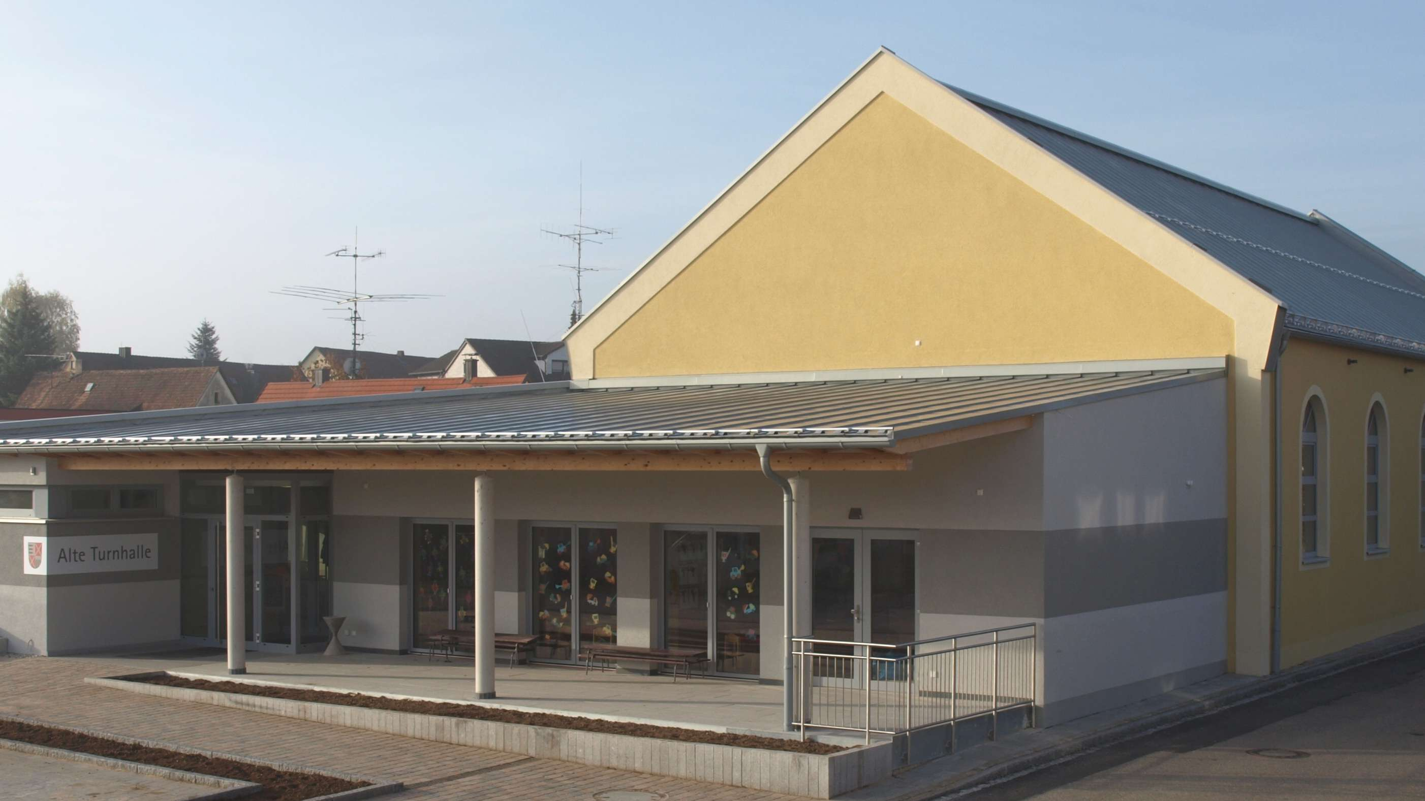 Alte Turnhalle: Markt Dürrwangen